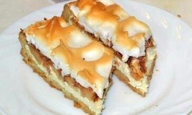 Песочный пирог Яблочный Спас