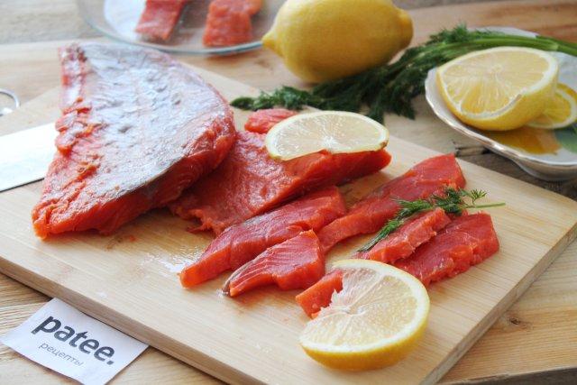 Засолка красной рыбы в домашних условиях 19