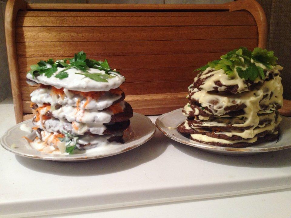Печеночный торт пп