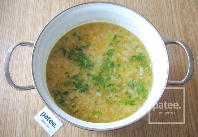 Гороховый суп со свиным балыком