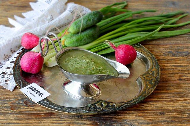 Домашний имбирный соус
