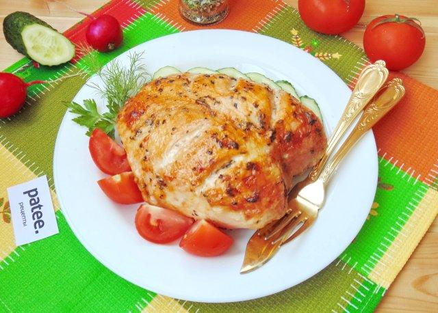 грудка курицы в духовке