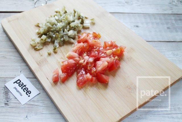 Овощное рагу с зеленой фасолью и тыквой