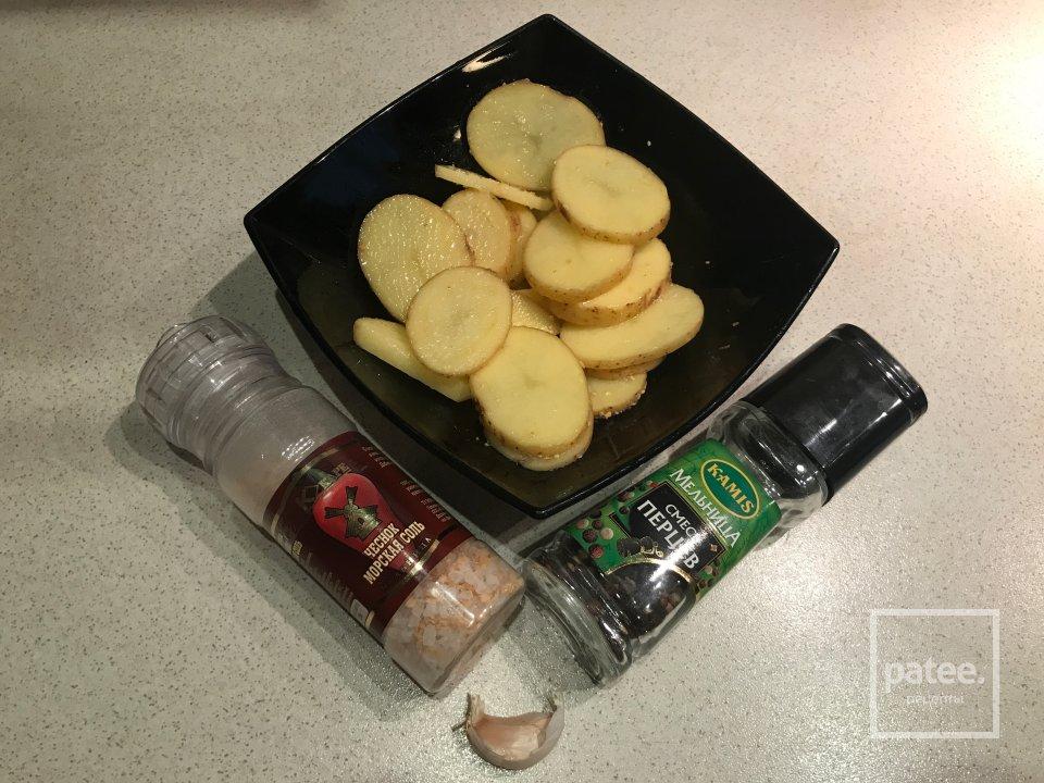 Перепёлки с картофелем