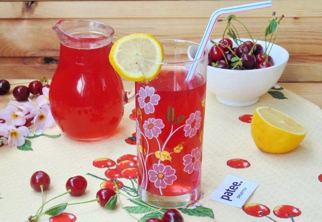 Вишневый лимонад
