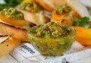 Сальса с свежих овощей