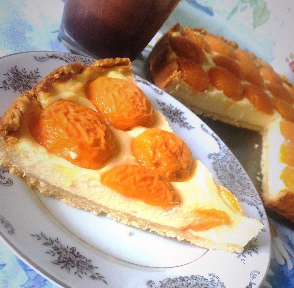 Чизкейк с абрикосами 🍑