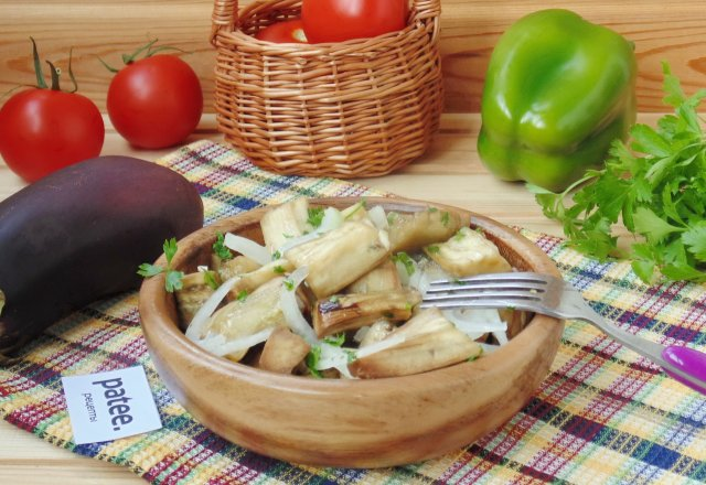 Баклажаны со вкусом грибов без уксуса