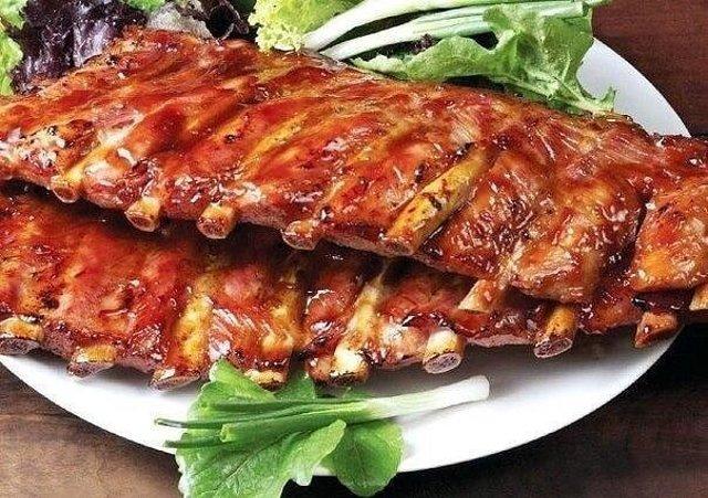 рецепт с фото свиные ребра