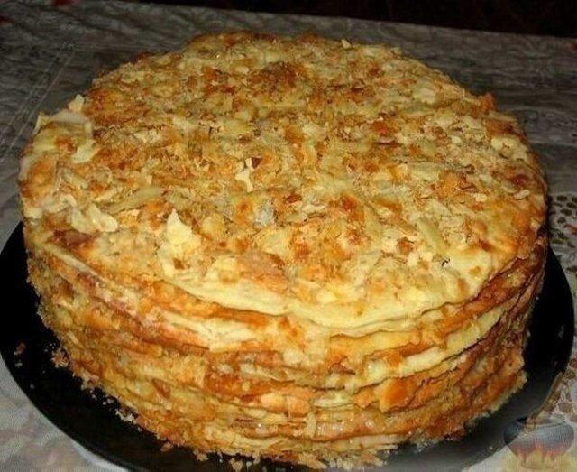 торт наполеон рецепт старый рецепт