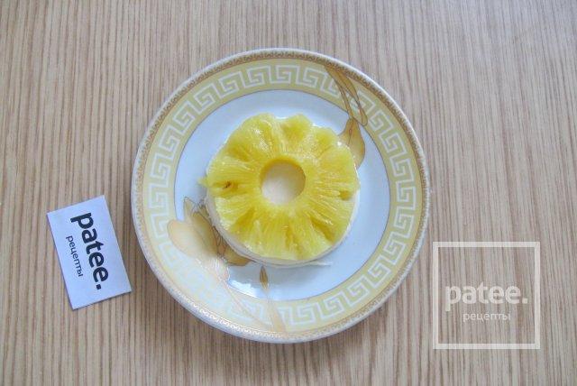 Печенье с ананасом на творожном тесте