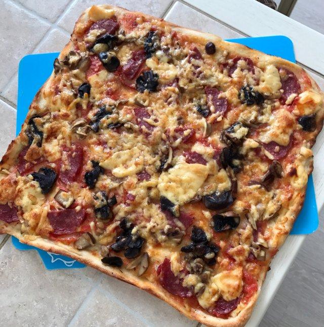 Грибная 🍕 пицца