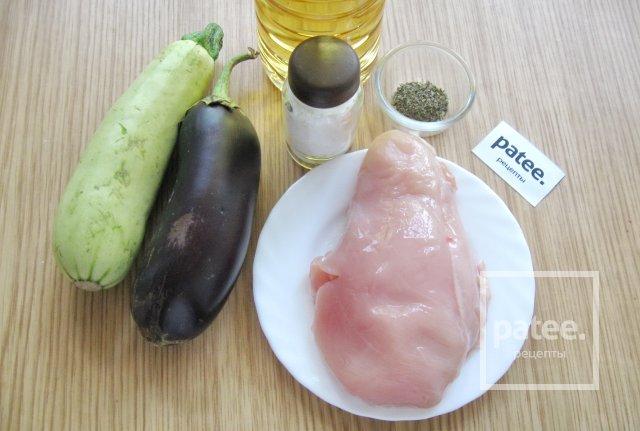 куриная грудка с овощами на сковороде рецепт