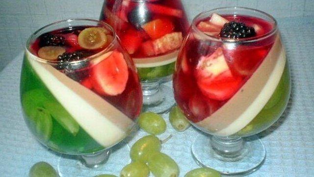 Желе из замороженных ягод с желатином Рецепты с фото 88