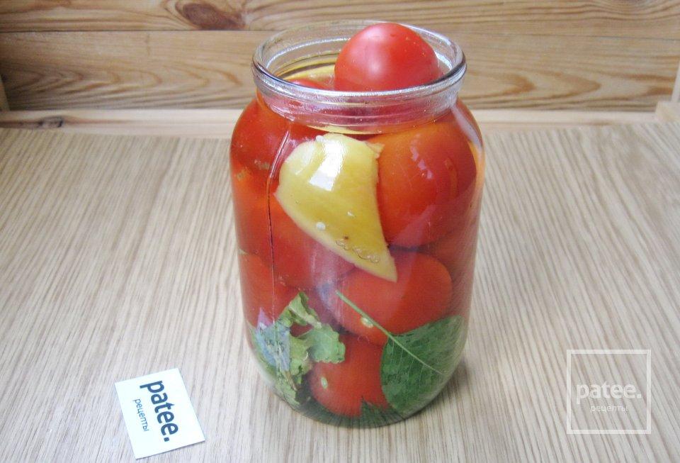 Маринованные помидоры с медом