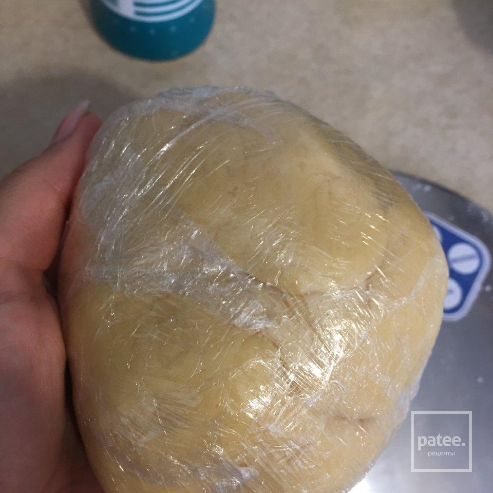 Тарт Куриный с сырной заливкой