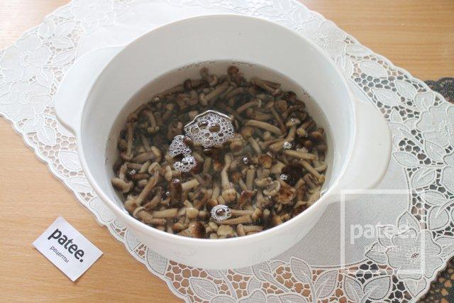 Опята маринованные в сладком маринаде