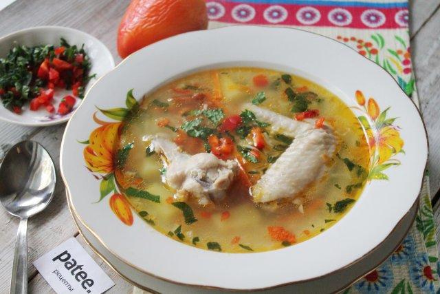 Супы с куриными горлышками
