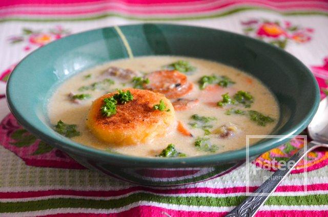 Суп-пюре из баранины