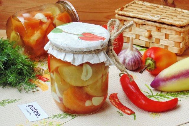 маринованные помидоры бурые на зиму