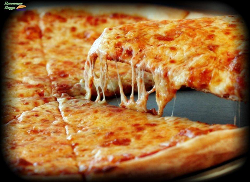 Пицца на очень тонком тесте