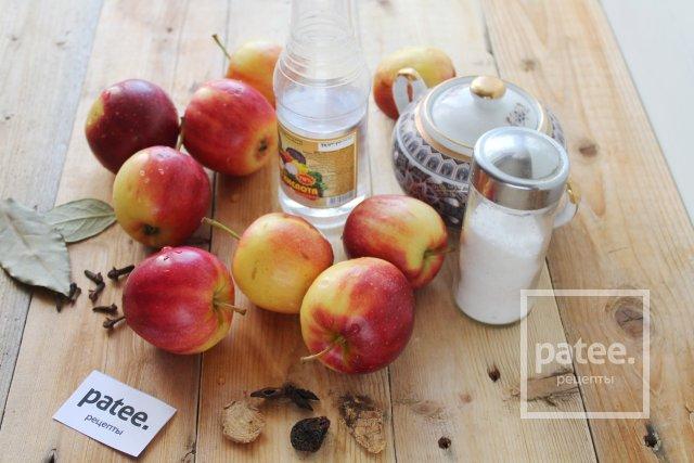яблоки маринованные с лимонной кислотой