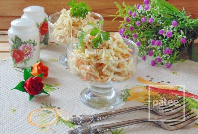 """Салат из курицы с редькой """"Архиерейский"""""""