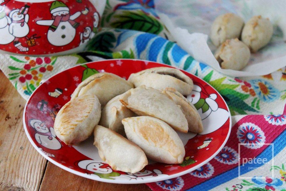 Закусочные пирожки с печенкой