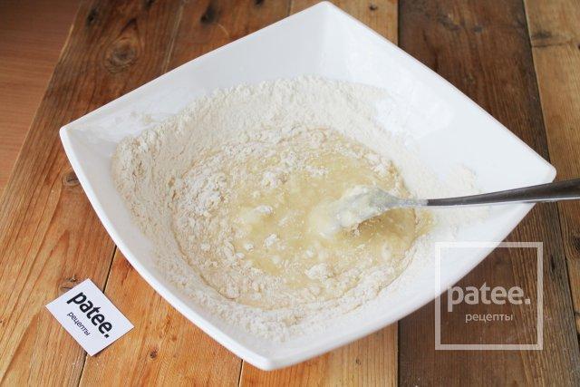 Пирог с замороженной клубникой