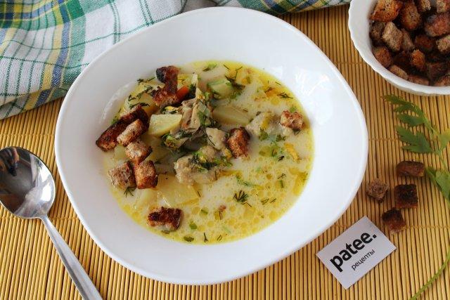 Суп сливочный овощной калорийность