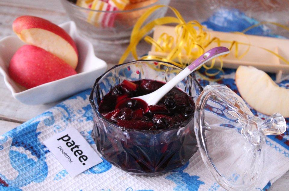 Варенье из аронии и яблок