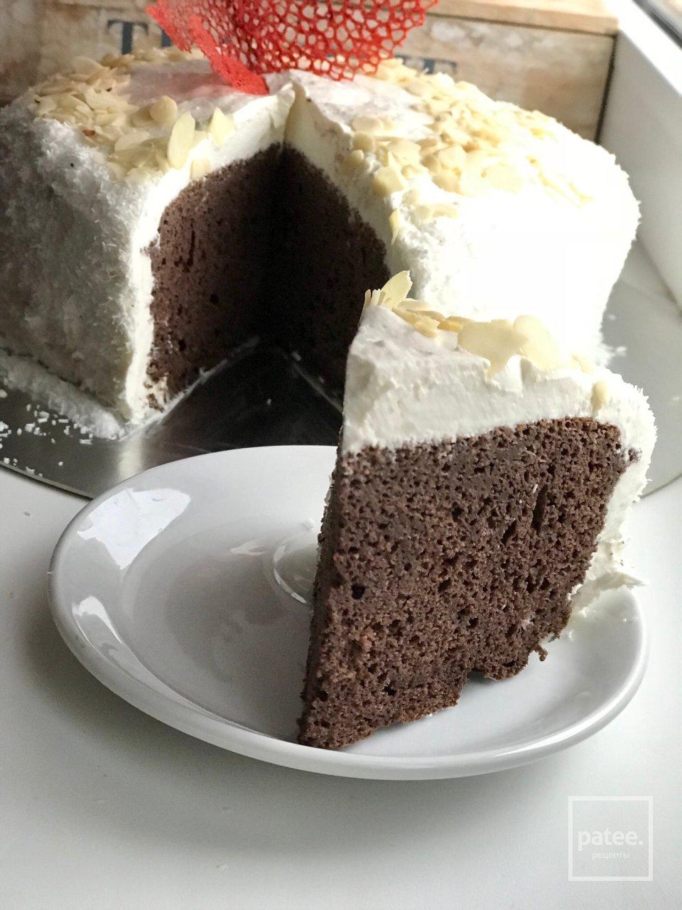 ПП Шоколадно-кокосовый торт