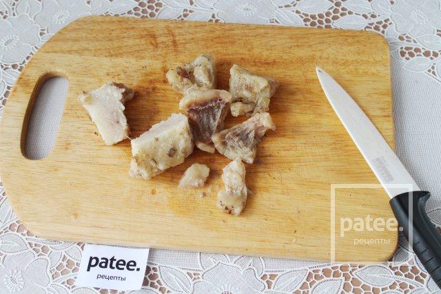 Печеночный паштет с оливками и чесноком