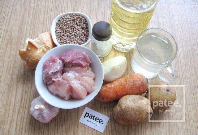 суп с фрикадельками с гречкой пошаговый рецепт с фото