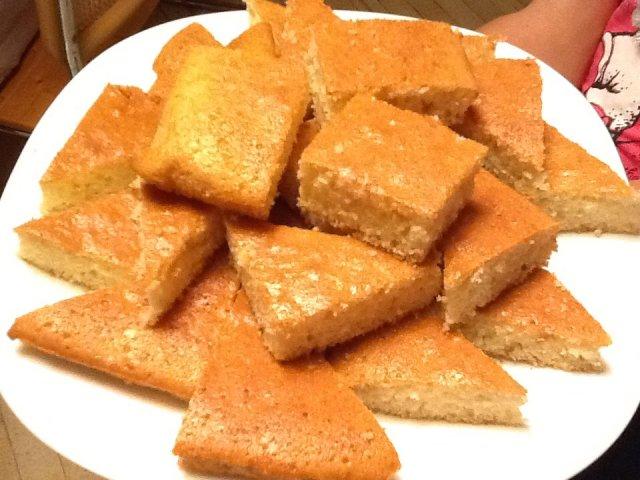 Манник пирог