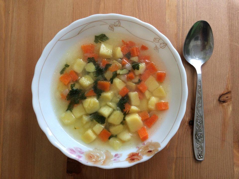 Овощной суп для всей семьи