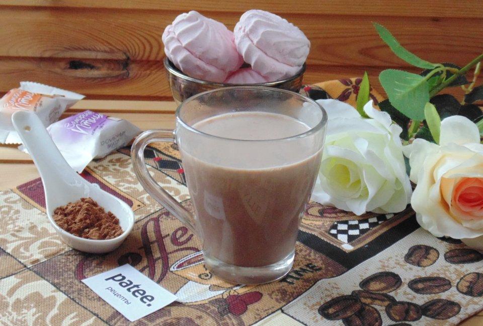 Какао с молоком классическое