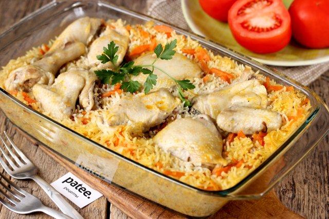 Рецепты с курицей в фольге фото