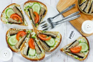 лёгкие бутерброды рецепты с фото