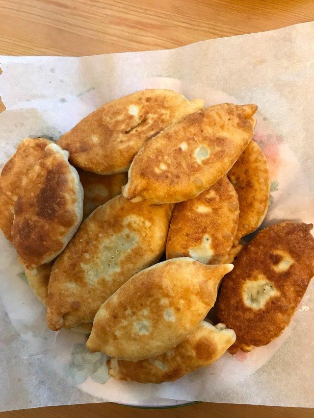 Пирожки с картошкой и капустой