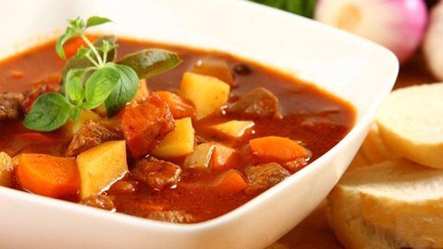 супы гуляши рецепты с фото