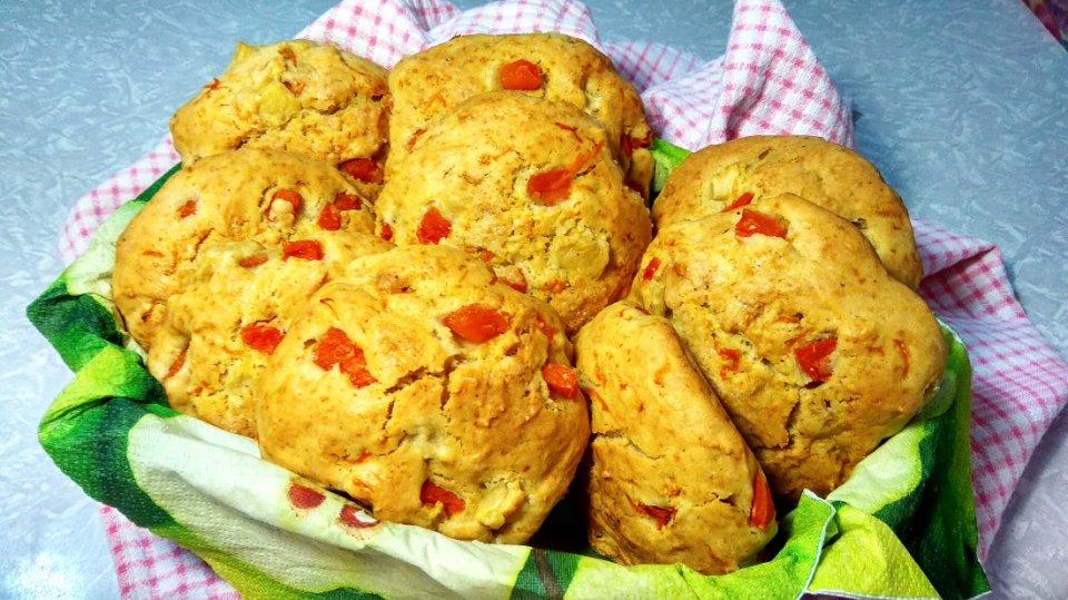 Простой и вкусный рецепт булочек c тыквой на завтрак