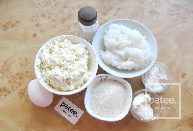 Запеканка из творога с рисом