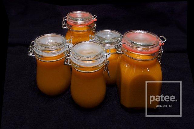 Облепиховый джем с имбирем и медом