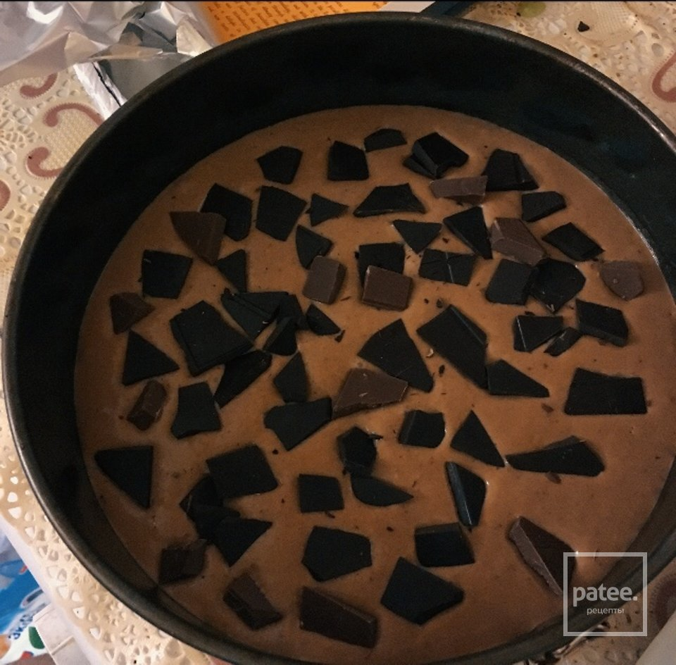 торт шоколад в шоколаде