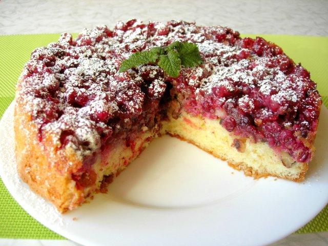 Ни один гость не уйдет без рецепта! Бостонский клюквенный пирог