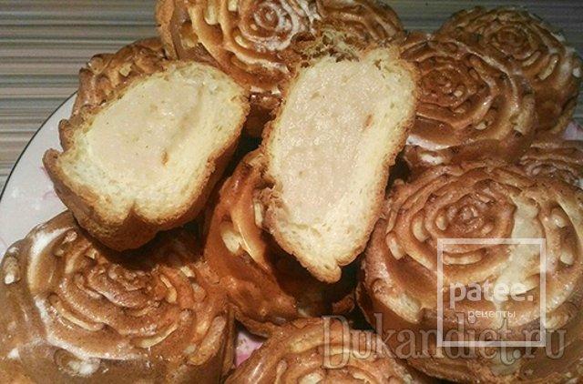 Заварные пирожные(с чередования)дюкан