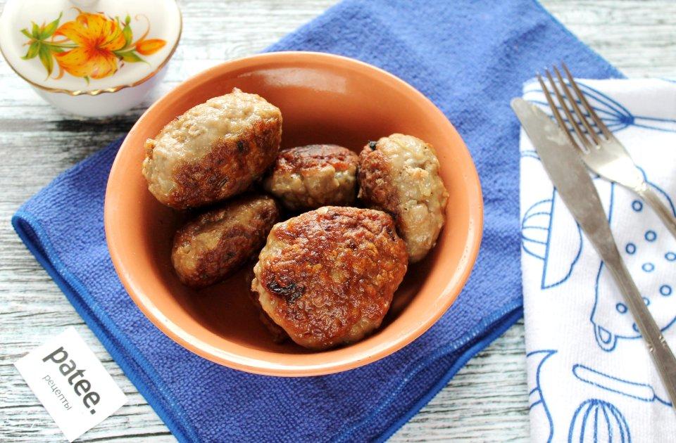 Котлеты из говядины жаренные на сковороде