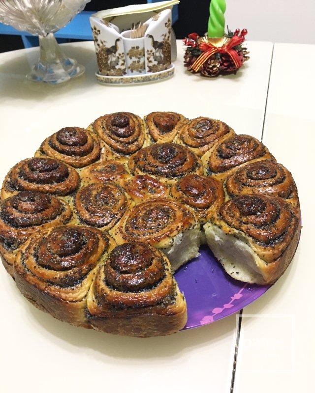Маковый пирог «Кружевной»