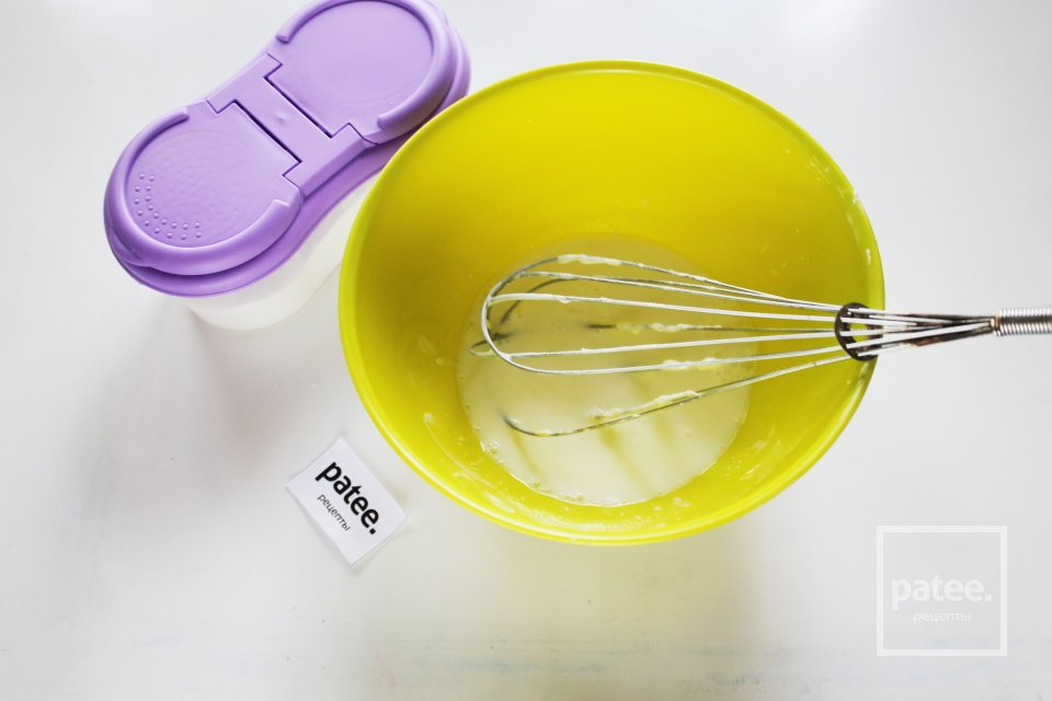 Блинчики ванильные на молоке и кефире